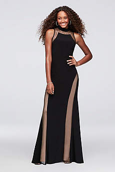 Long Sheath Tank Prom Dress - Morgan and Co