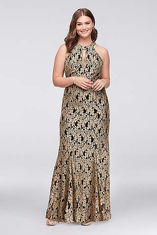 Plus size evening wear mother of the bride