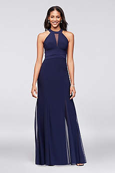 Long Halter Formal Dresses Dress - Morgan and Co