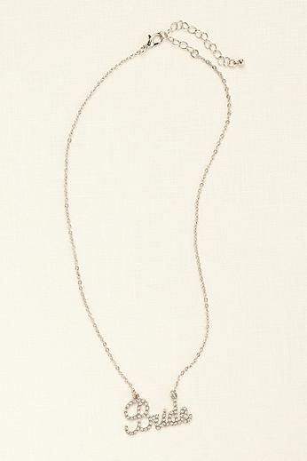 Crystal Pave Bride Necklace 2189092