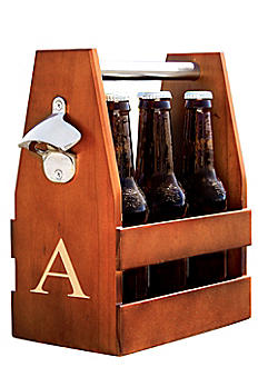 Personalized Wooden Craft Beer Holder 2290