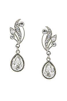 Swarovski Crystal Teardrop Vine Earrings 22962