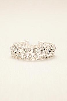 Two Row Solitaire Clasp Bracelet 23022B001