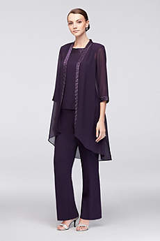 Long Jumpsuit Jacket Mother and Special Guest Dress - Le Bos