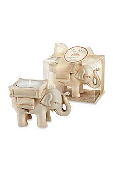 Lucky Elephant Tea-Light Holder 25062IV