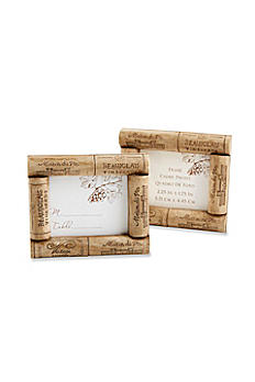 Vive la Vin Cork Place Card/Photo Frame 25156NA