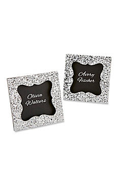 Sparkle and Shine Silver Glitter Frame 25210SV