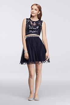 Short Ballgown Tank Prom Dress - My Michelle