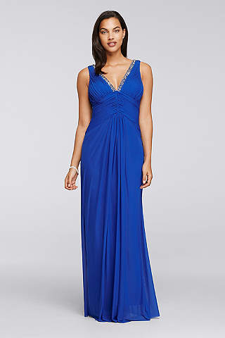 blue prom dresses: short & long lengths   david's bridal