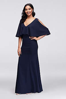 Long Mermaid/ Trumpet Off the Shoulder Formal Dresses Dress - Marina