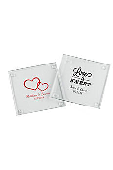 Personalized Glass Coaster Set of 12 27075NA
