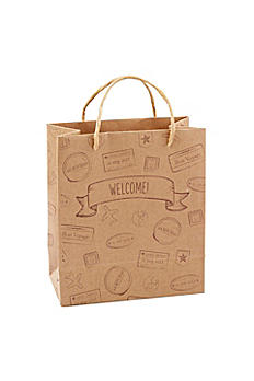 Let the Adventure Begin Welcome Bags Set of 12 28268NA