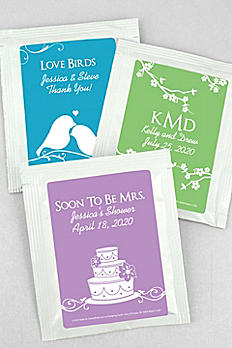 DB Exclusive Personalized Wedding Tea Favors 5258000DB