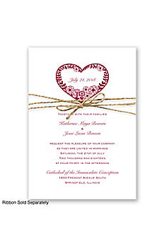 Natures Heart Invitation Sample DB11428NAH
