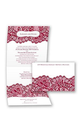 Chantilly Chic Invitation Sample DB26494