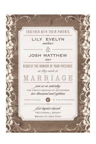 Free Wedding Invitation Samples | David's Bridal