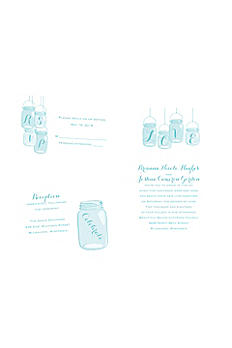 Lovely Canning Jars Invitation Sample DB34824