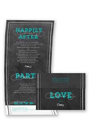 Chalkboard Delight Invitation Sample DB36788