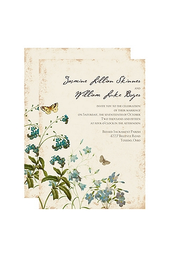 Natural Glade Invitation Sample DB9841AA1L