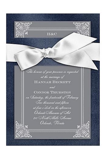 Treasured Jewels Charisma Invitation Sample DBN16186