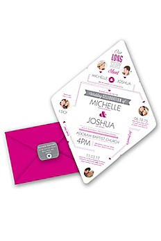 Story of Romance Invitation Sample DBP35711