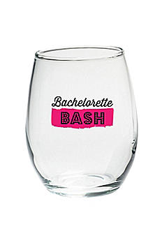 Bachelorette Bash 15 oz Stemless Wine Set of 4 30023NA-BBPB