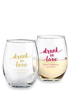 DB Exclusive Personalized Stemless Wine Glass 15oz 30023NA-DBEW