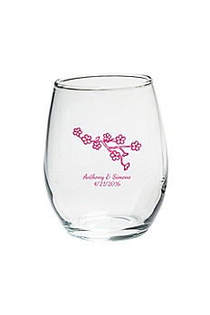 Personalized Stemless Wine Glass 15 oz. 30023NA
