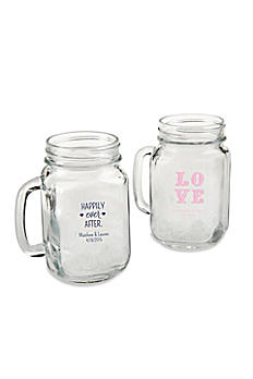 Personalized 16 oz Mason Jar Mug 30036NA-WD