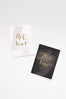 His and Hers Vow Journals 30137T