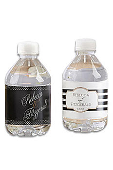 Personalized Classic Design Water Bottle Labels 31420NA