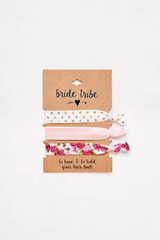 Bride Tribe Hair Tie Set