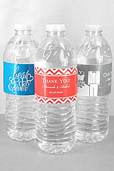 DB Exc Personalized Water Bottle Label Sheet of 5 3508000DB