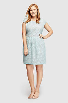 Short Sheath Cap Sleeves Cocktail and Party Dress - City Triangles