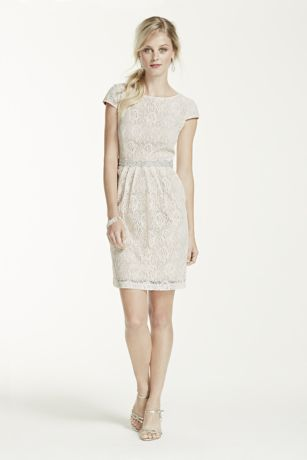 Bead and lace dresses