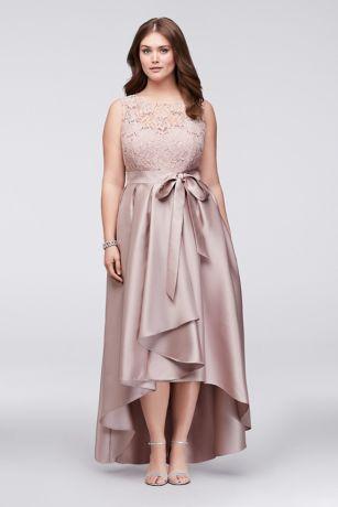 Plus size semi formal wedding dresses