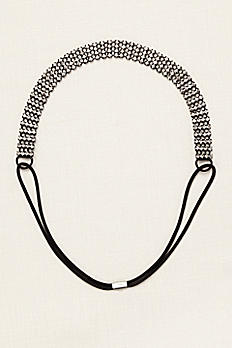 4 Row Crystal Stretch Headband 382812