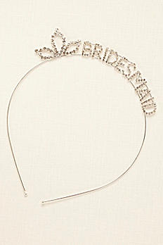 Scripted Bridesmaid Headband 384599