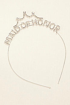 Scripted Maid of Honor Headband 384601
