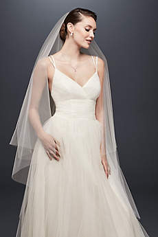Two-Tier Circle-Cut Walking Veil
