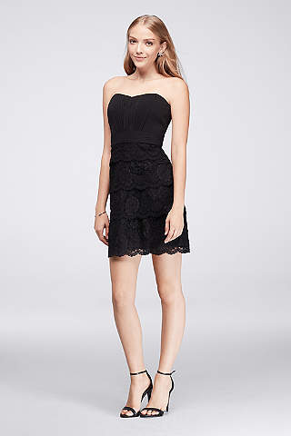 short black formal dress