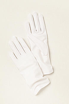 Greatlookz Matte Finish Satin Gloves Wrist Length 3GLDS1239A