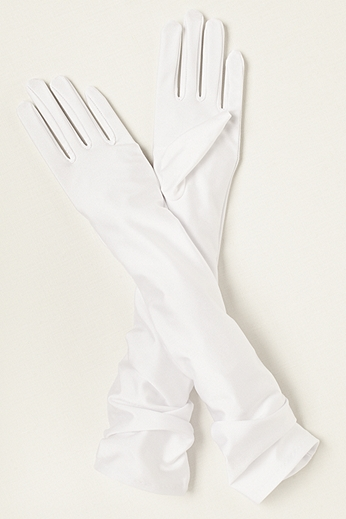 Greatlookz Matte Satin Over the Elbow Gloves 3GLDS1239