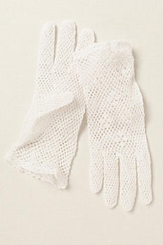Greatlookz Cotton Crochet Shortie Gloves 3GLFE079