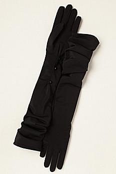 Greatlookz Matte Spandex Opera Length Gloves 3GLFE616
