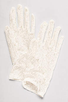 Lace Wrist-Length Gloves