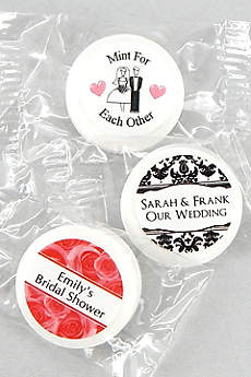 Personalized Classic Wedding Life Savers Mints