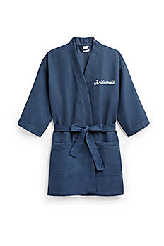 Personalized Waffle Kimono Robe 41063