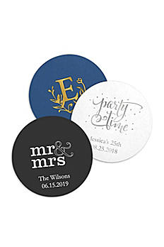 Personalized Paper Coasters Round Set of 100 41087