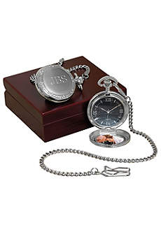 Personalized Photo Pocket Watch